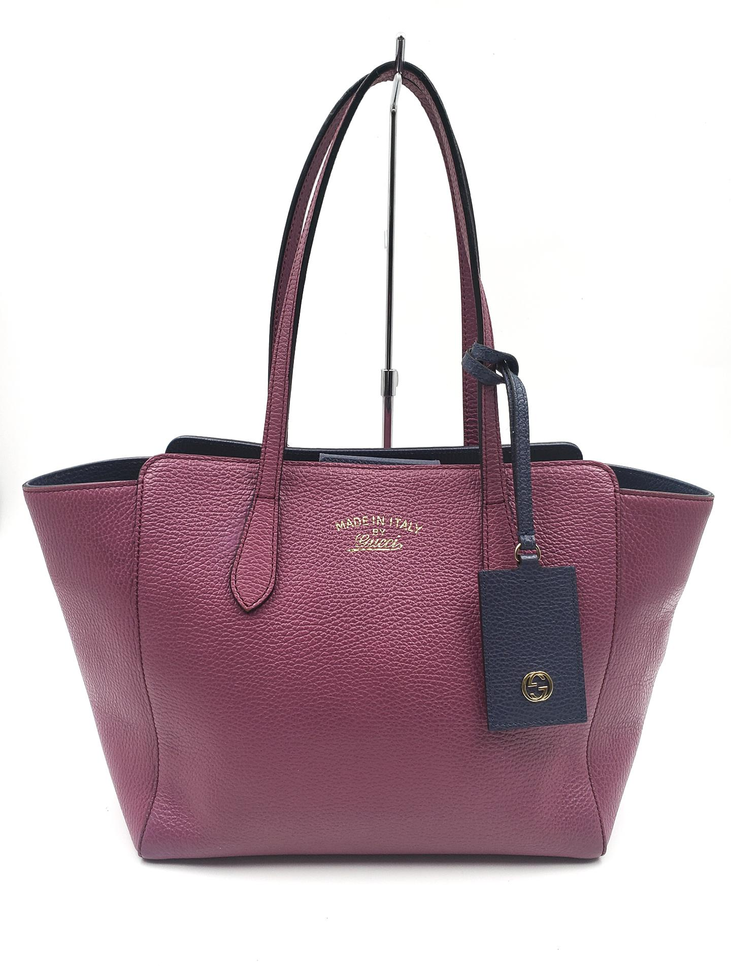 Tote bag, Swing, Textured leather
